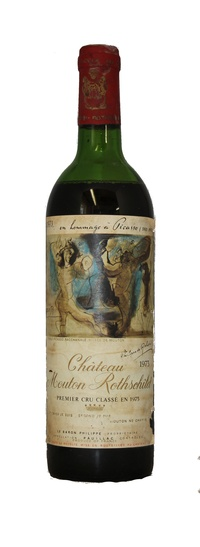 Chateau Mouton Rothschild , 1973